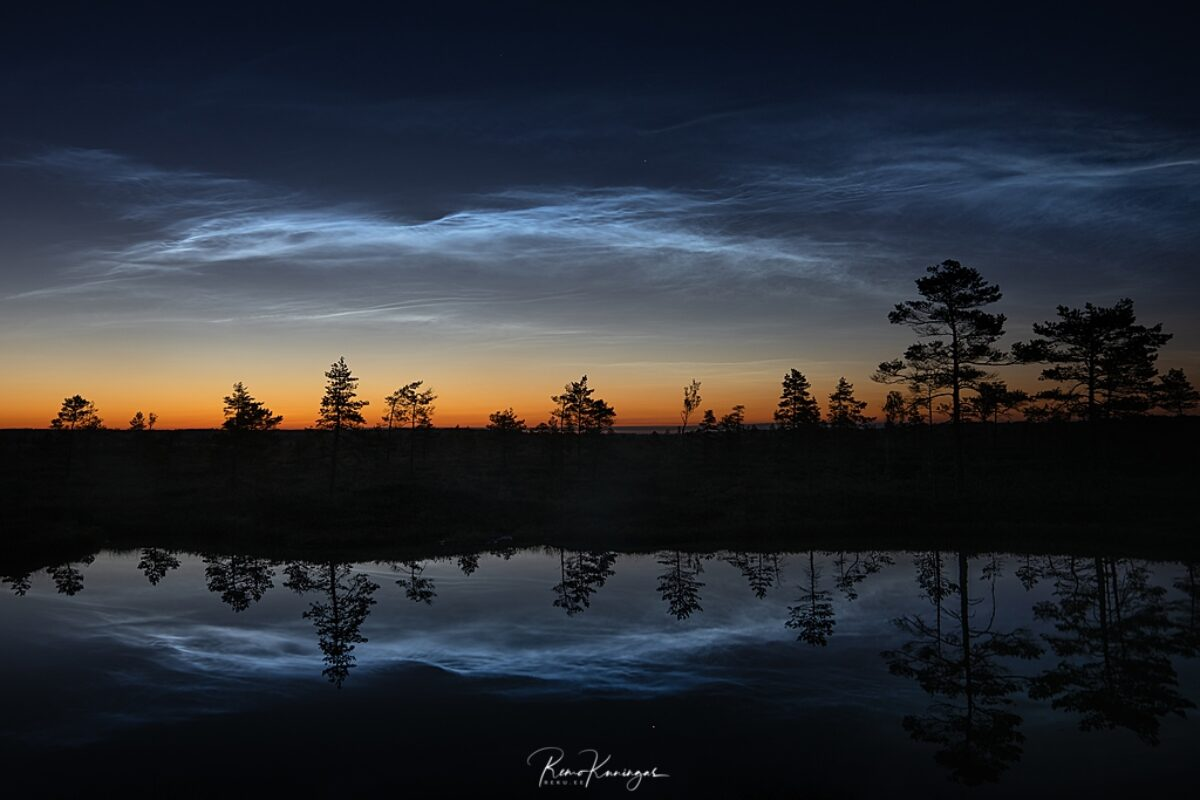 Reflecting noctilucent clouds