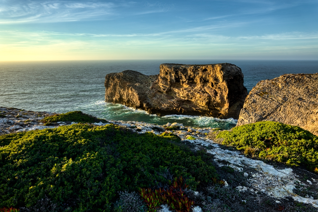 Cape St. Vincent during sunset